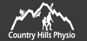 country hills physiotherapy- logo white
