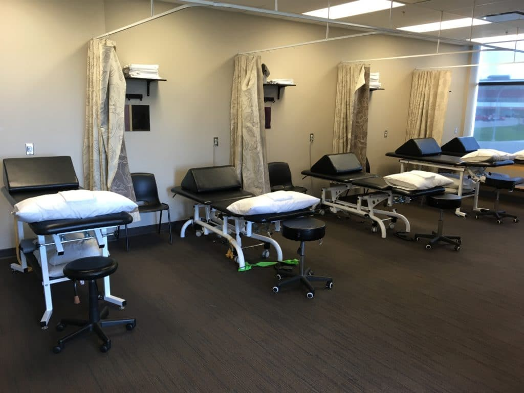 Physio Treatment Area